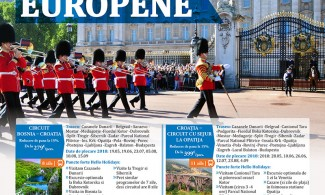 Circuite Europene – Flyer, Editia I- 2018